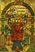 Book of Kells illuminated manuscript
