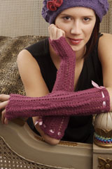 FIFI FINGERLESS MITTS